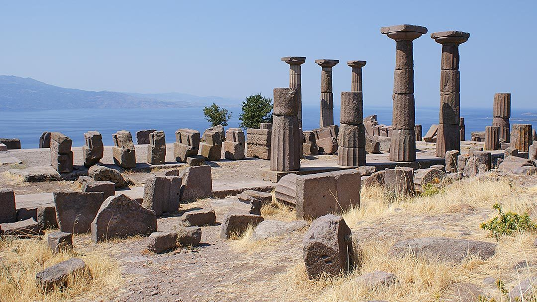 Athena Tapınağı, Asos