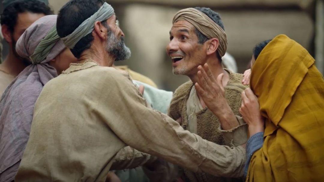 İsa Kör Adamı İyileştirir